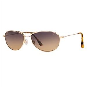 Maui Jim Baby Beach Polarized Aviator Sunglasses